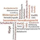 Bild: Besonderes Verwaltungsrecht in Stichworten
